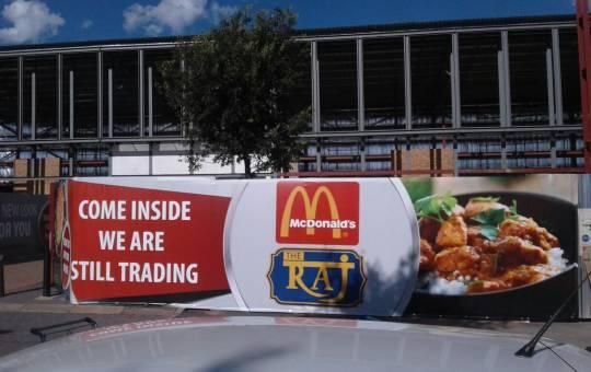 Hoarding Branding